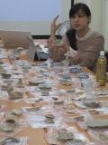 王淑津老師講解陶瓷